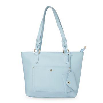 globus | Globus Ice Blue Shopper Bag