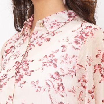 globus | Globus Pink Printed Shirt
