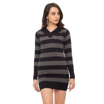 globus | Globus Black Striped Dress