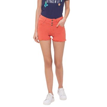 globus | Globus Peach Solid Shorts