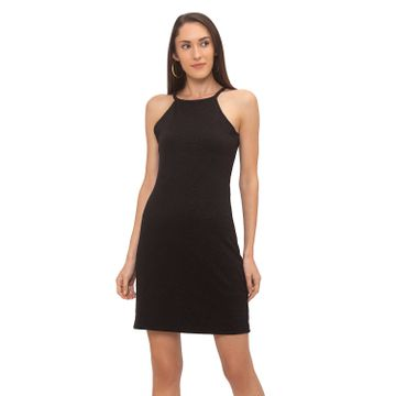 globus | Globus Black Solid Dress