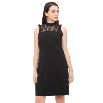 globus | Globus Black Solid Dress