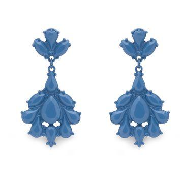 globus | Globus Blue Long Earring