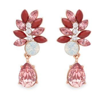 globus   Globus Rose Gold Dangling Stud Earring