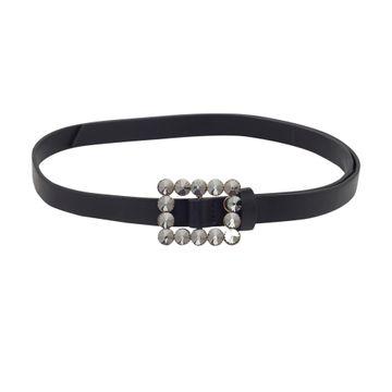 globus | Globus Black Thick Belt