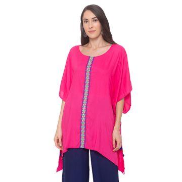 globus | Globus Pink Embroidered Tunic