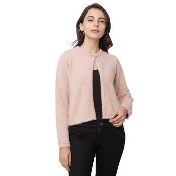 globus | Globus Pink Solid Cardigan