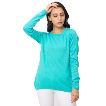 globus | Globus Green Solid Sweater