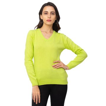 globus | Globus Lime Solid Sweater