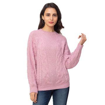 globus | Globus Lilac Textured Sweater