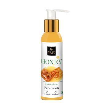 Good Vibes | Good Vibes Moisturizing Face Wash - Honey (120 ml)
