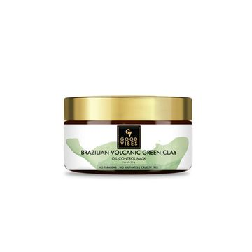 Good Vibes | Good Vibes Oil Control Mask - Brazilian Volcanic Green Clay (50 g)