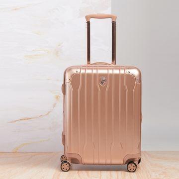 Heys | Heys Unisex Rose Gold Polycarbonate Suitcases