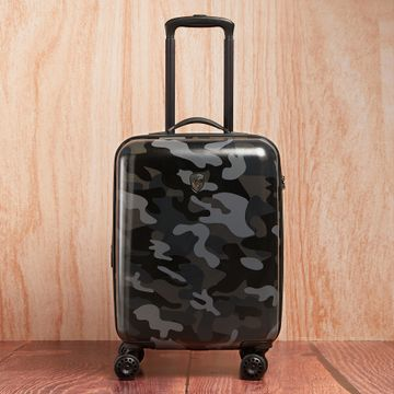 Heys | Heys Unisex Black Camo Polycarbonate Composite Suitcases