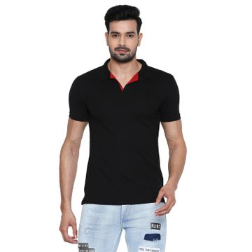 Integriti | Integriti Black Slim Fit Men's T-Shirts