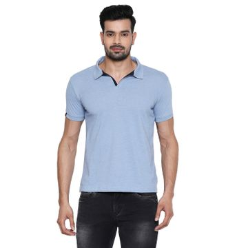 Integriti | Integriti Blue Slim Fit Men's T-Shirts