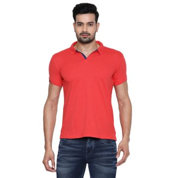 Integriti | Integriti Red Slim Fit Men's T-Shirts