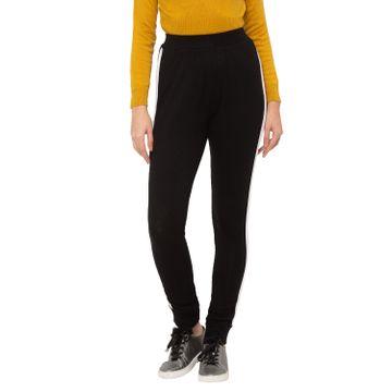 globus | Globus Black Solid Trousers