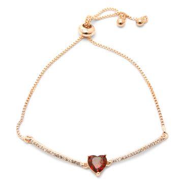globus   GlobusROSE GOLD/REDFriendship Bracelet