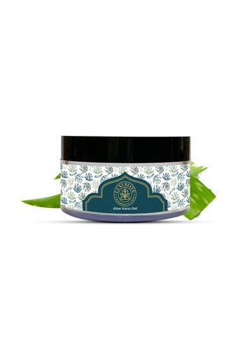 LUXURIATE   LUXURIATE 100% Pure Natural Gel Bio Organic Non-Toxic Aloe Vera Gel for Acne, Scars, Hair Care, Moisturizer & Dark Circles,Glowing & Radiant Skin Treatment, 100 Gm