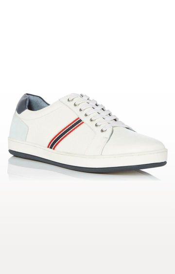 Dune London | White Torrin DI Sneakers
