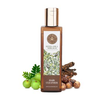 LUXURIATE | LUXURIATE Ritha Amla Shikakai Hair Cleanser Shampoo for Men and Women,200 ml