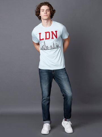 MARCA DISATI | LDN Embroidered Applique T-Shirt