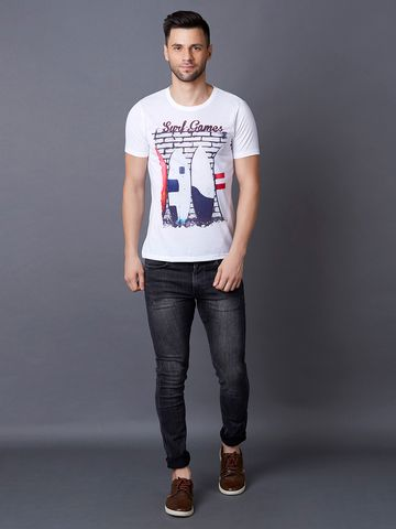 MARCA DISATI | Photo Printed T-Shirt