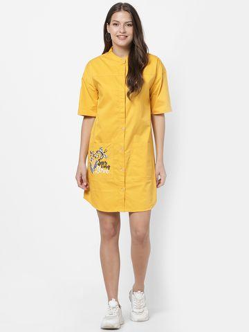 MARCA DISATI   Short Woven Shirt Dress