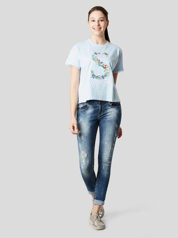 MARCA DISATI | Multicoloured Embroidered T-Shirt