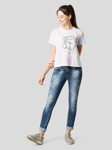 MARCA DISATI | Tie-Dye Embellished T-Shirt