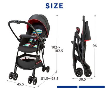 Mothercare | Graco Citi Go Stroller -Play Red