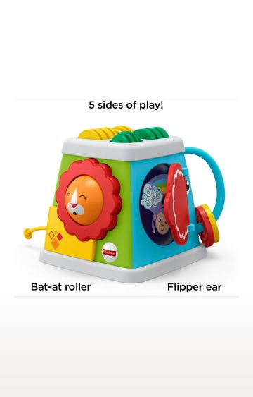 Mothercare | Fisher Price Press N Go Vehicle Ast