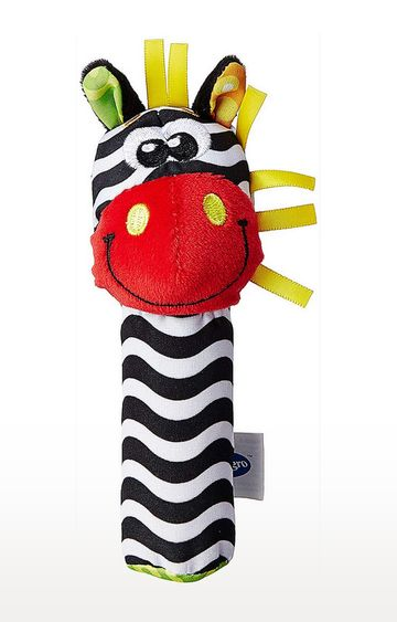 Mothercare | Playgro Jungle Squeaker Zebra