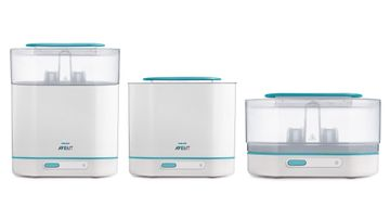 Mothercare | Avent 3-In-1 Electric Steam Sterilizer - Capacity 6 Bottles