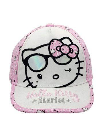 Mothercare | Kidsville Girls Cap Kitty-Pink