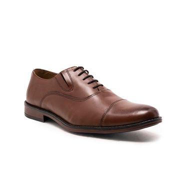 Noble Curve | Noble Curve  Leather Oxford Shoes