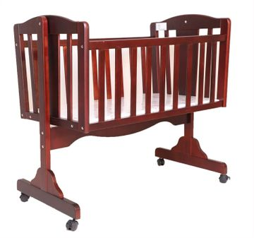 Mothercare   Brown R for Rabbit Dream Time Wooden Cradle