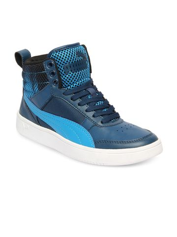 Puma | Blue Puma Boy's Rebound Street v2 Oxidized Jr  Sneakers