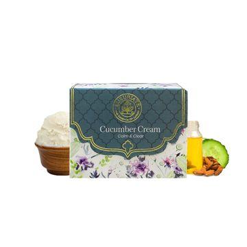 LUXURIATE   LUXURIATE Cucumber Calming & Anti Aging Moisturizing Skin Facial Massage Cream for Men and Women,50 gm