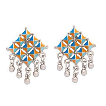 globus | Globus Silver Ethnic Earring