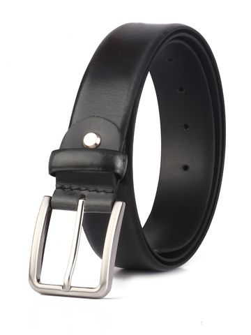 RED CHIEF | Red Chief Men Leather Formal Belt (Black)