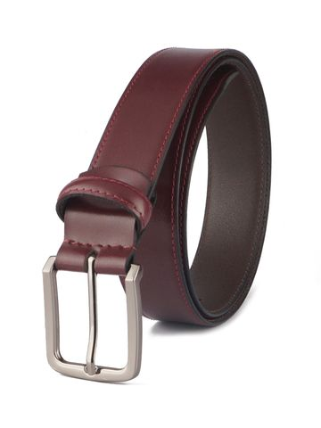 RED CHIEF | Red Chief Men Leather Formal Belt (Cherry)