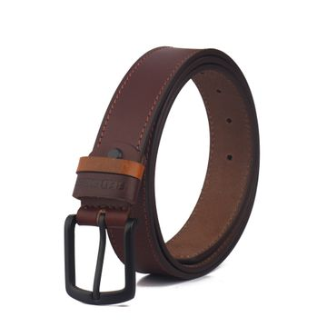 RED CHIEF | Red Chief Men Leather Casual Belt (Cherry)