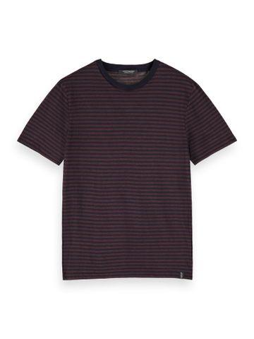 Scotch & Soda | Black Striped T-Shirt