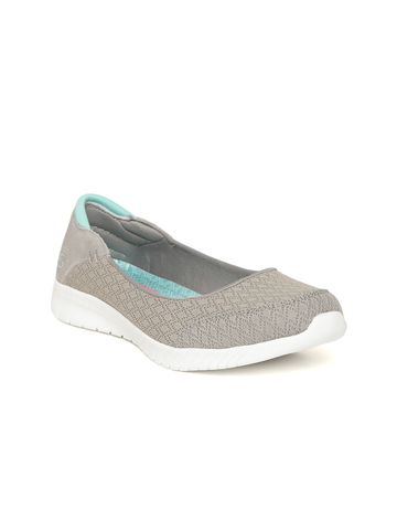 Skechers | Skechers Women Wave-Lite Woven Design Slip-On Ballerinas
