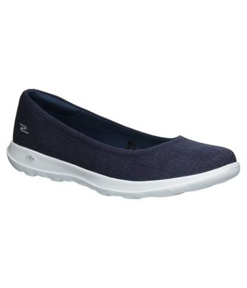 Skechers | Navy Blue Skechers Women's Ballerinas