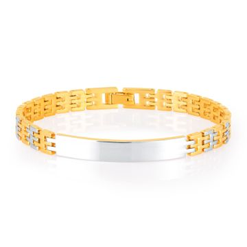 SUKKHI | Sukkhi Fabulous Gold Plated Bracelet For Men
