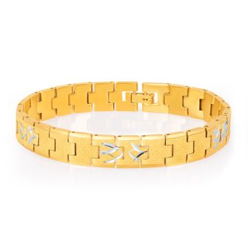 SUKKHI | Sukkhi Classic Gold Plated Bracelet For Men