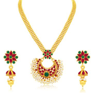 SUKKHI | Sukkhi Traditionally Gold Plated Necklace Set For Women
